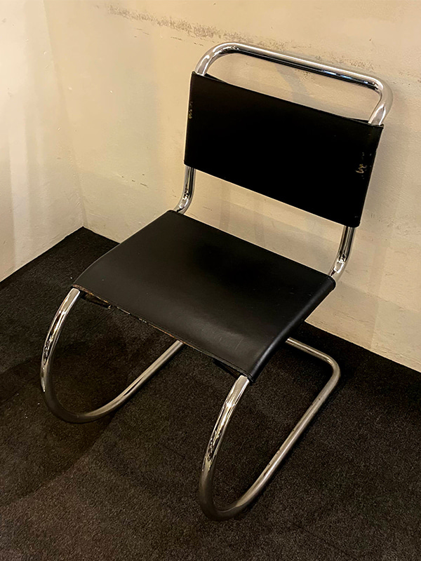 Mies Van Der Rohe MR10 Chair - Black